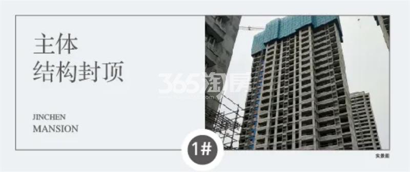 四季连城锦宸1#工程进展(11月4日)