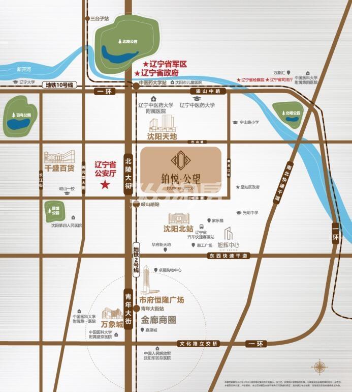 旭辉铂悦·公望交通图