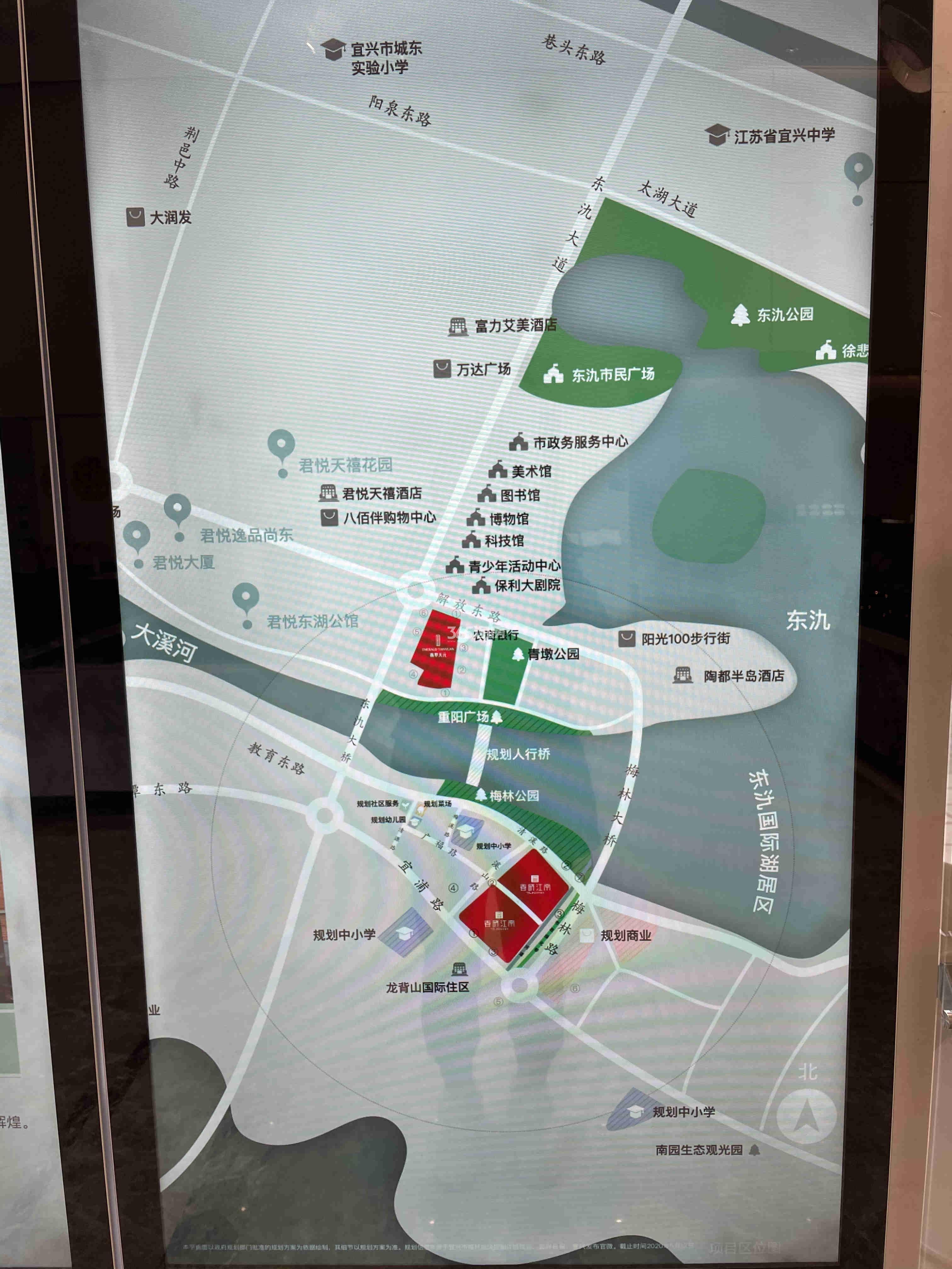 春晓江南交通图