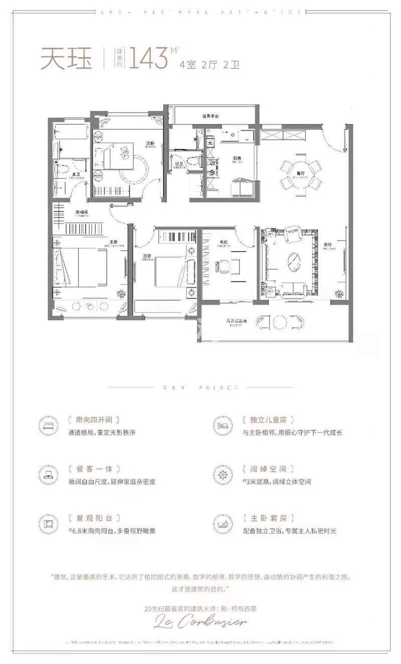 华宇新城·天境户型图
