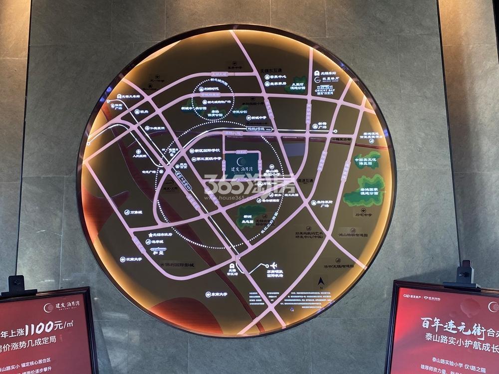 建发泊月湾交通图