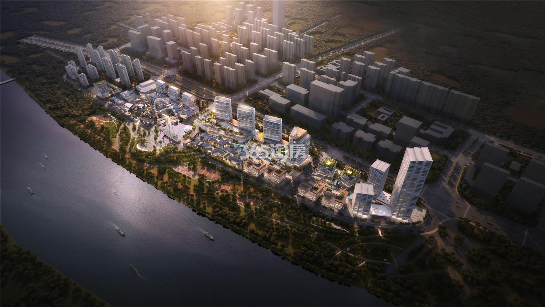 华侨城欢乐滨江·华寓鸟瞰图