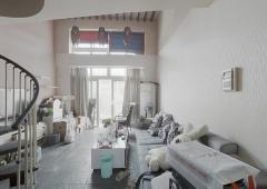 金马郦城西区 4跃5 复式得房率高 上下两层 业主诚售卖