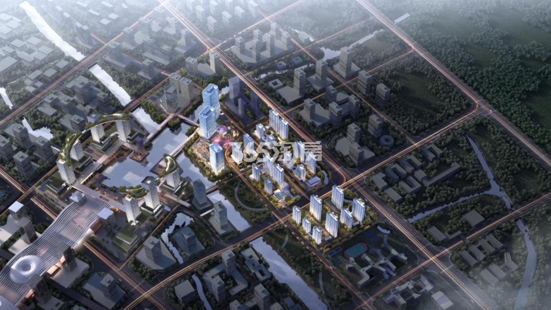 合景·环汇商业广场|臻颐府鸟瞰图