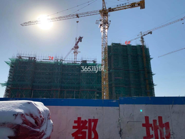 西江瑞府6、7号楼实景图(12.30)