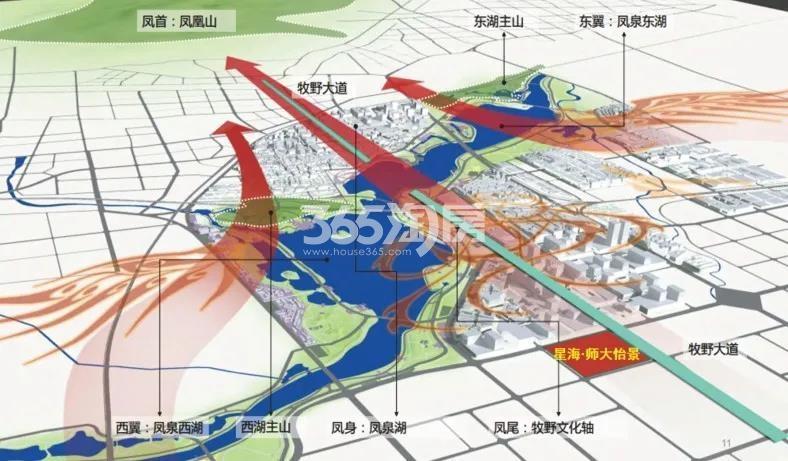 星海师大怡景交通图