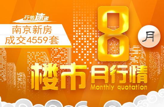 8月南京楼市行情:上市量骤减!新房成交超4500套 接下来在南京买房方向是……