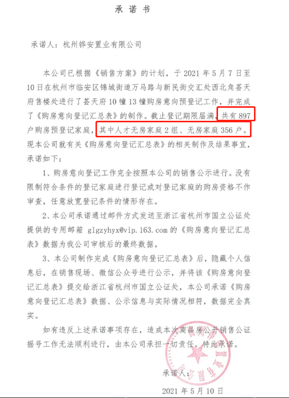 """临安城区今年""""首摇"""",中签率仅22.74%!"""