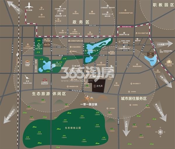 瑞辰·金悦府交通图