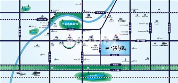 振兴山河赋交通图