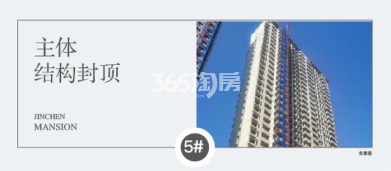四季连城锦宸5#工程进展(11月4日)