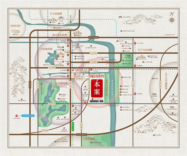 弘阳悦禧苑交通图