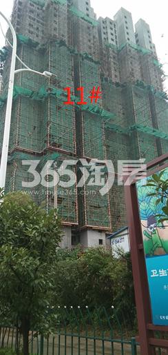 城置万锦城项目工地11#楼实景图