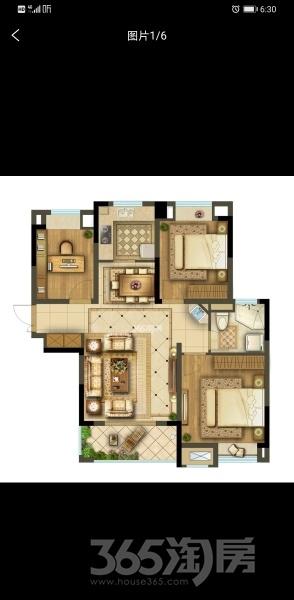君兰苑3室2厅1卫96平米整租毛坯