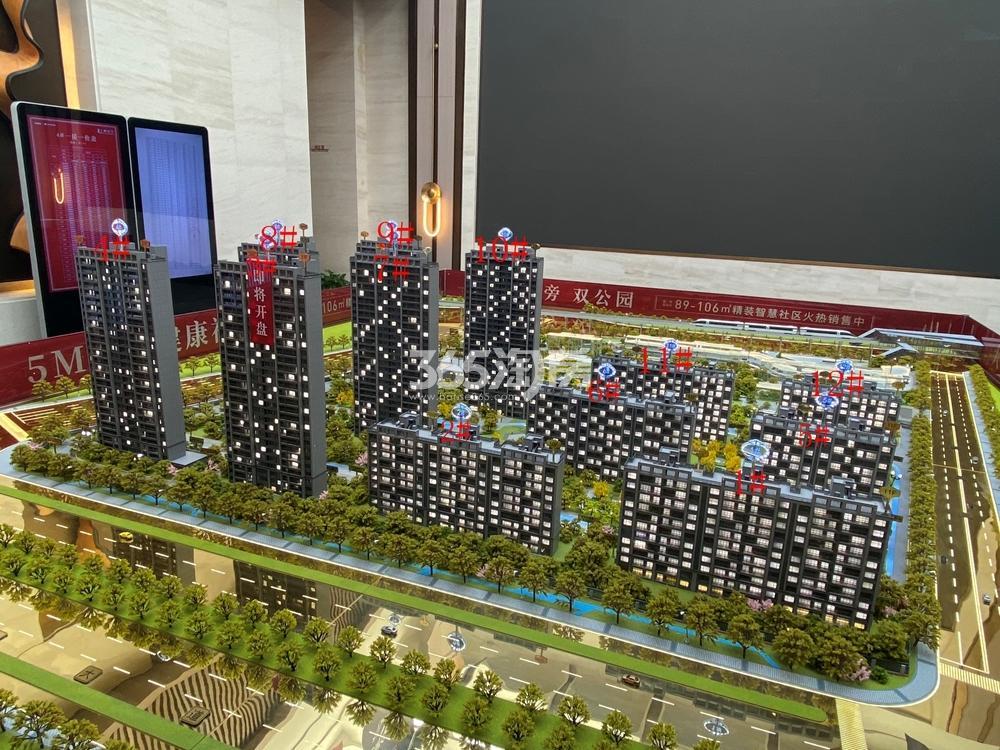 上城壹号实景图