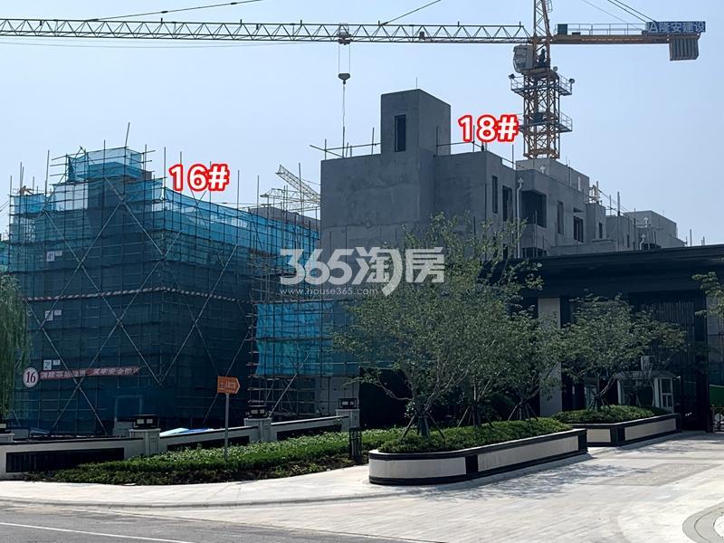 太湖如院16#、18#楼别墅工程实景(2020.8.30摄)