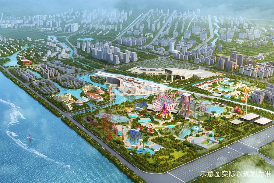 杭州湾融创文旅城效果图