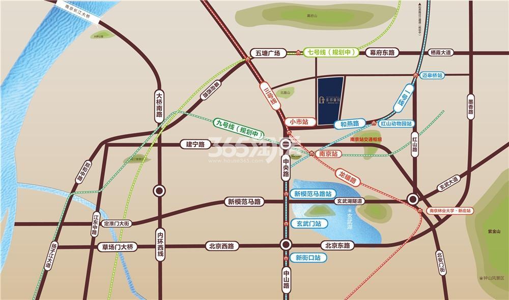葛洲坝招商国际广场交通图
