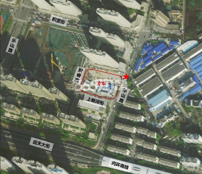 高力河西中G02地块交通图