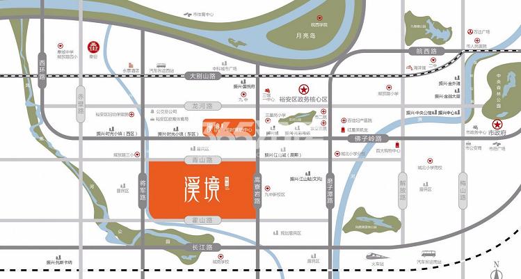 振兴·溪境交通图