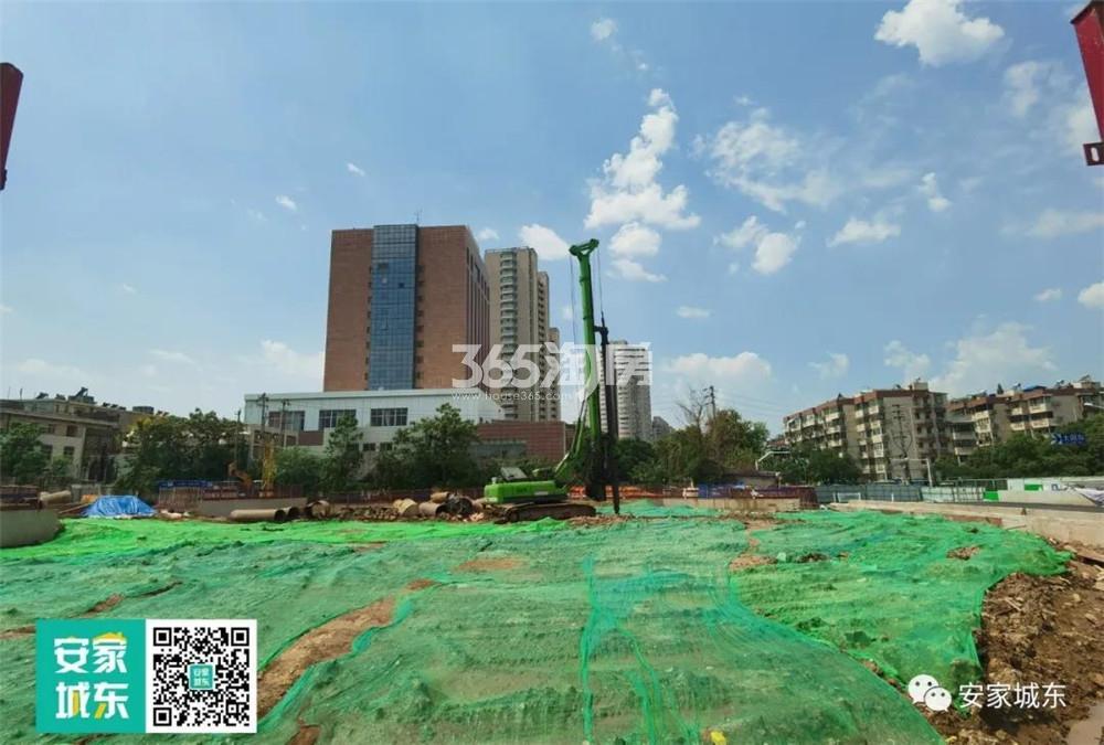 光华门G90项目内部建设进展实景图11.2