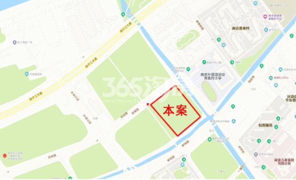 滨江ONE交通图