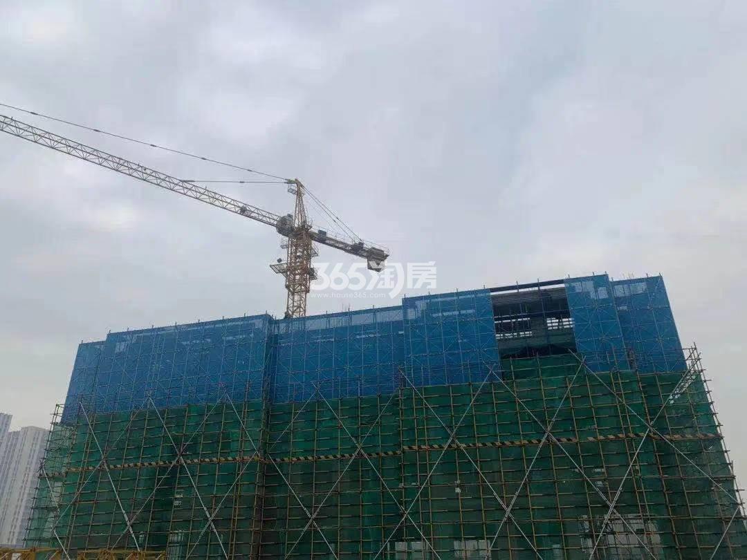 紫樾府A地块1#施工进展(1.15)