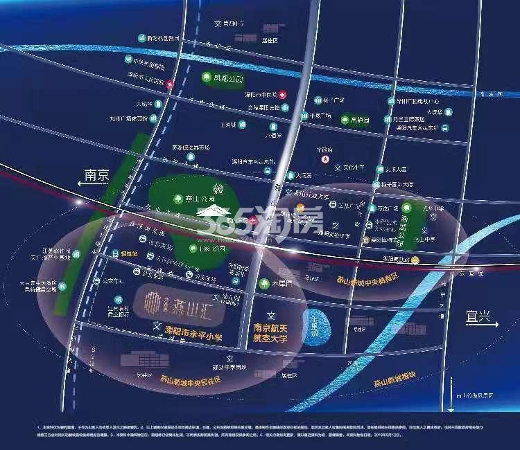 碧桂园·燕山汇交通图