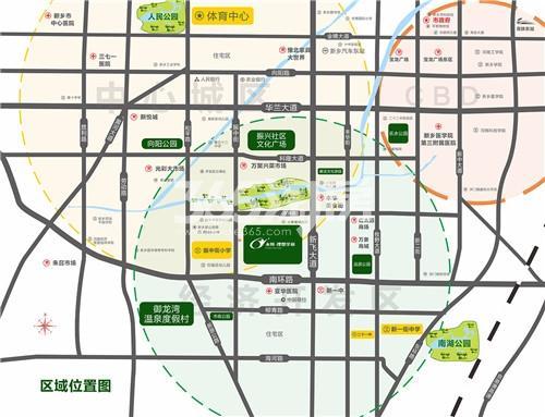 永恒理想学府交通图