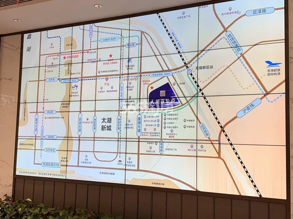 太湖雍华府交通图