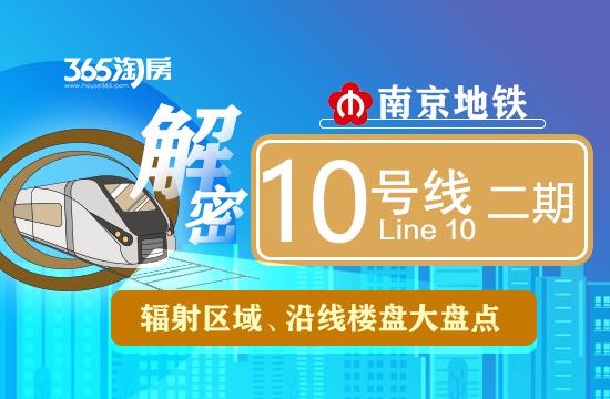 地铁10号线二期预计后年通!麒麟、大校场将迎来地铁 这些楼盘笑了