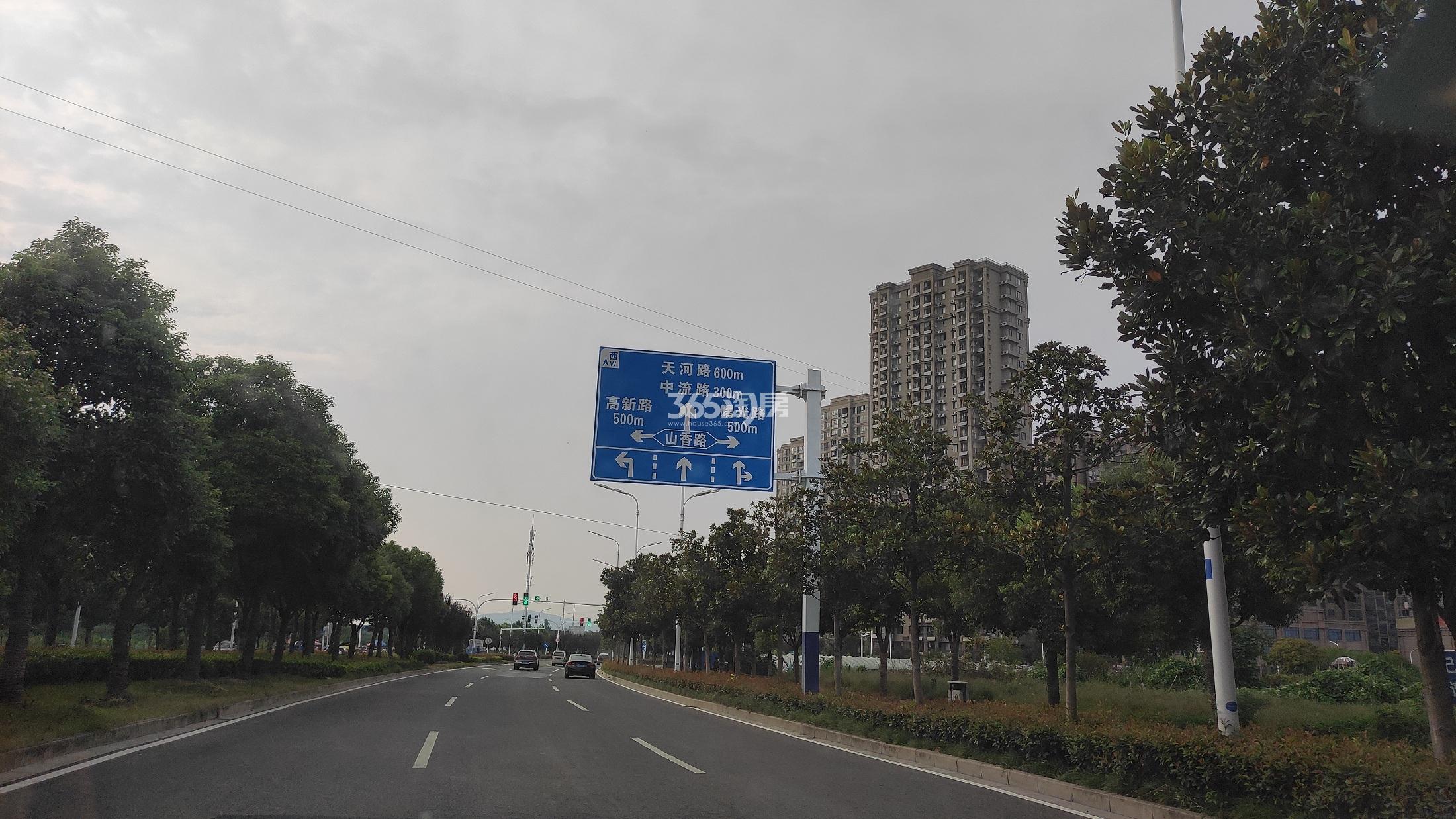 中淮·悦景花园实景图