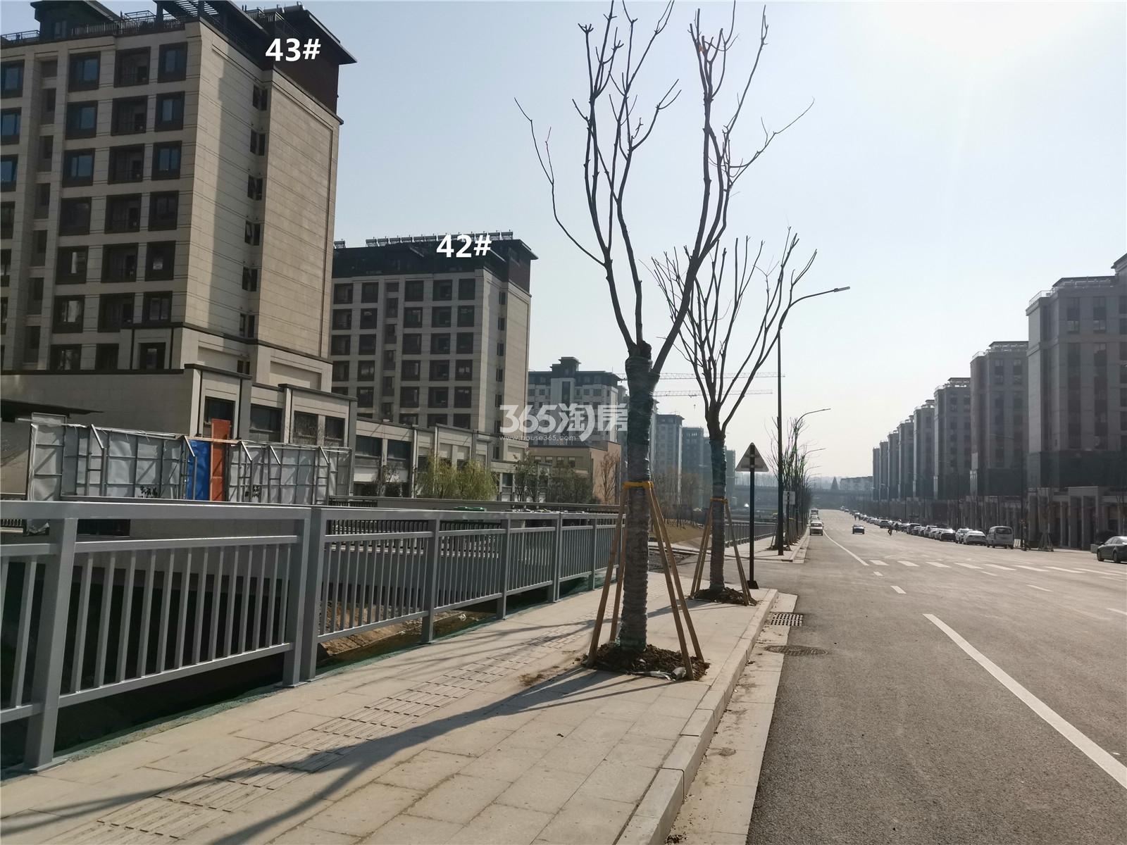 金隅紫京叠院42、43号楼实景图(1.28)