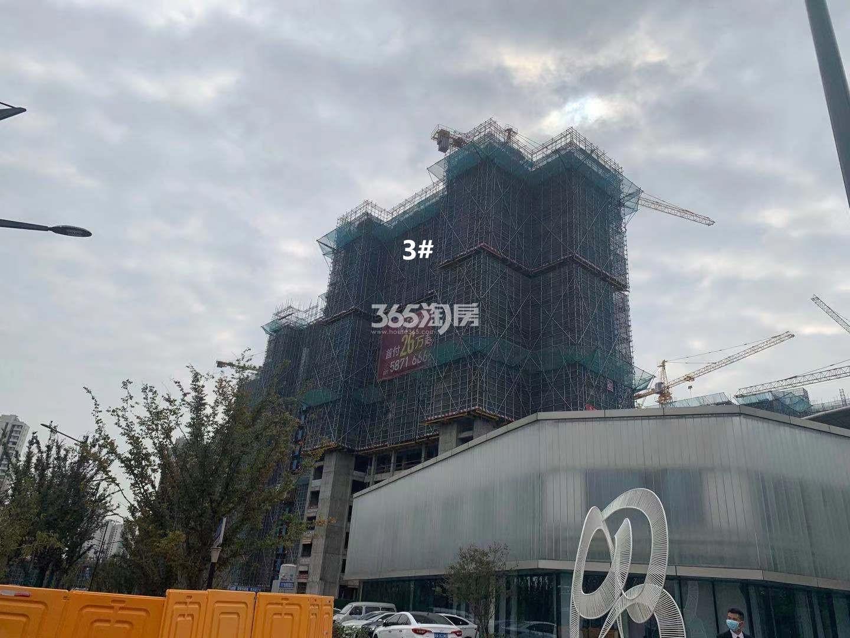 悦江府3号楼实景图(11.27)