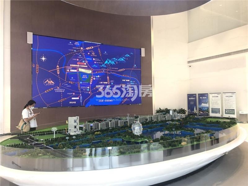 中国中铁陆港城实景图