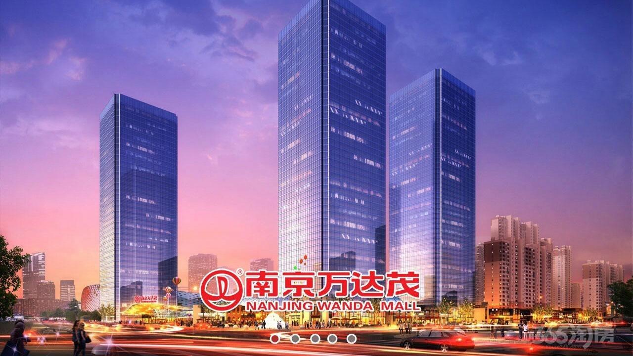 万达茂跃层全明公寓140万75平方带长期租约出售