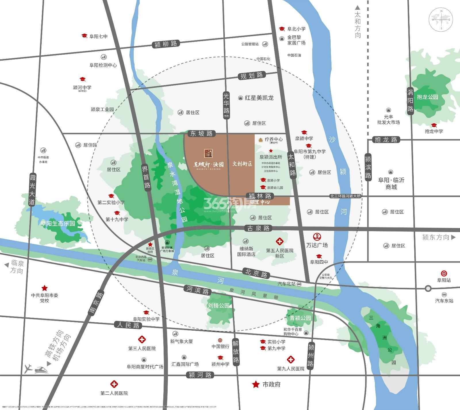 百润居·东坡印交通图