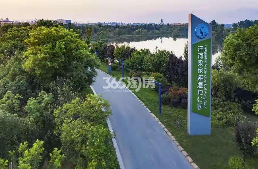天地源龙湖春江天境实景图