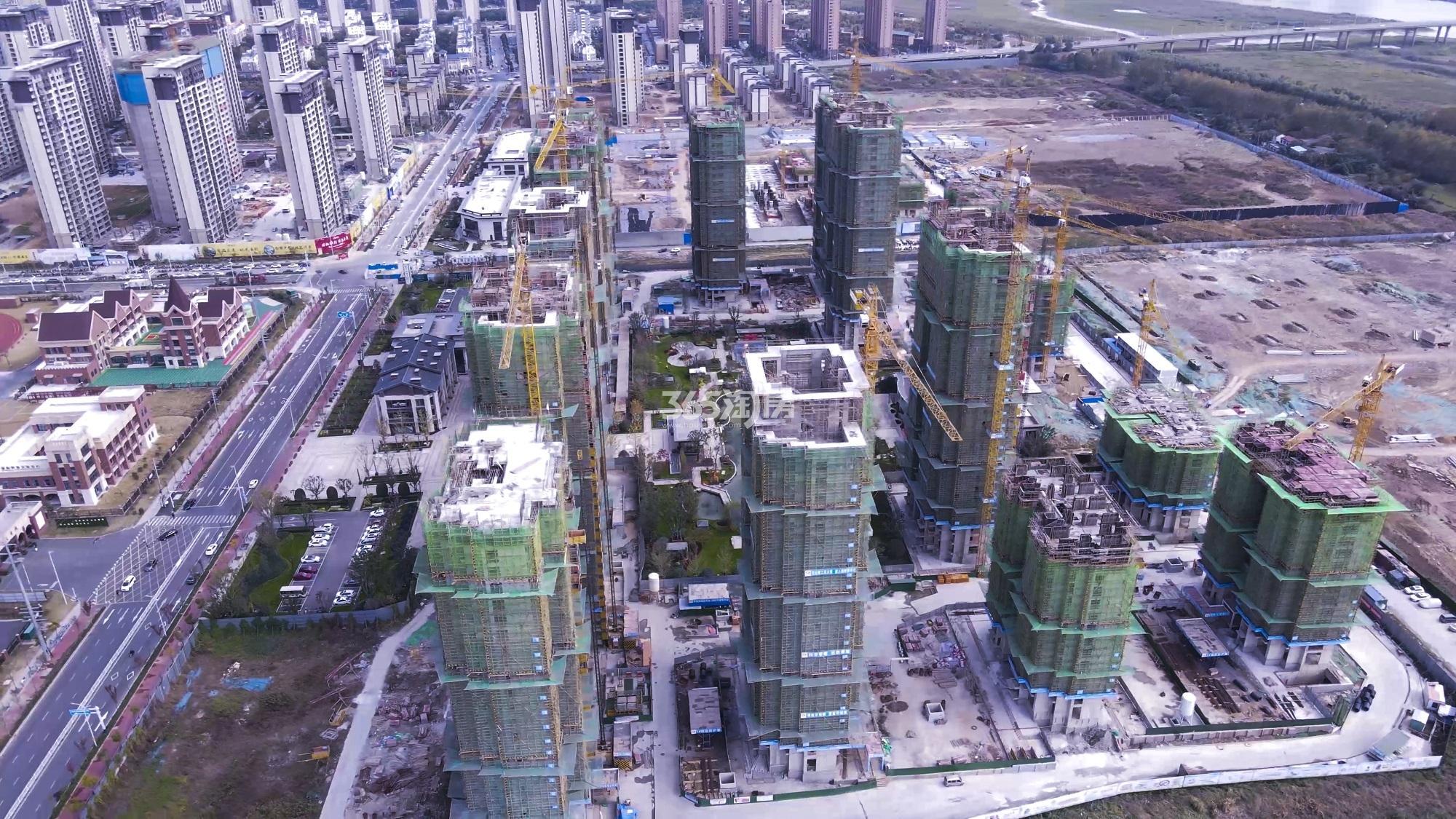蚌埠恒大·悦澜湾实景图