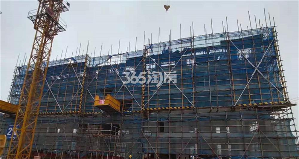 滨江孔雀城实景图