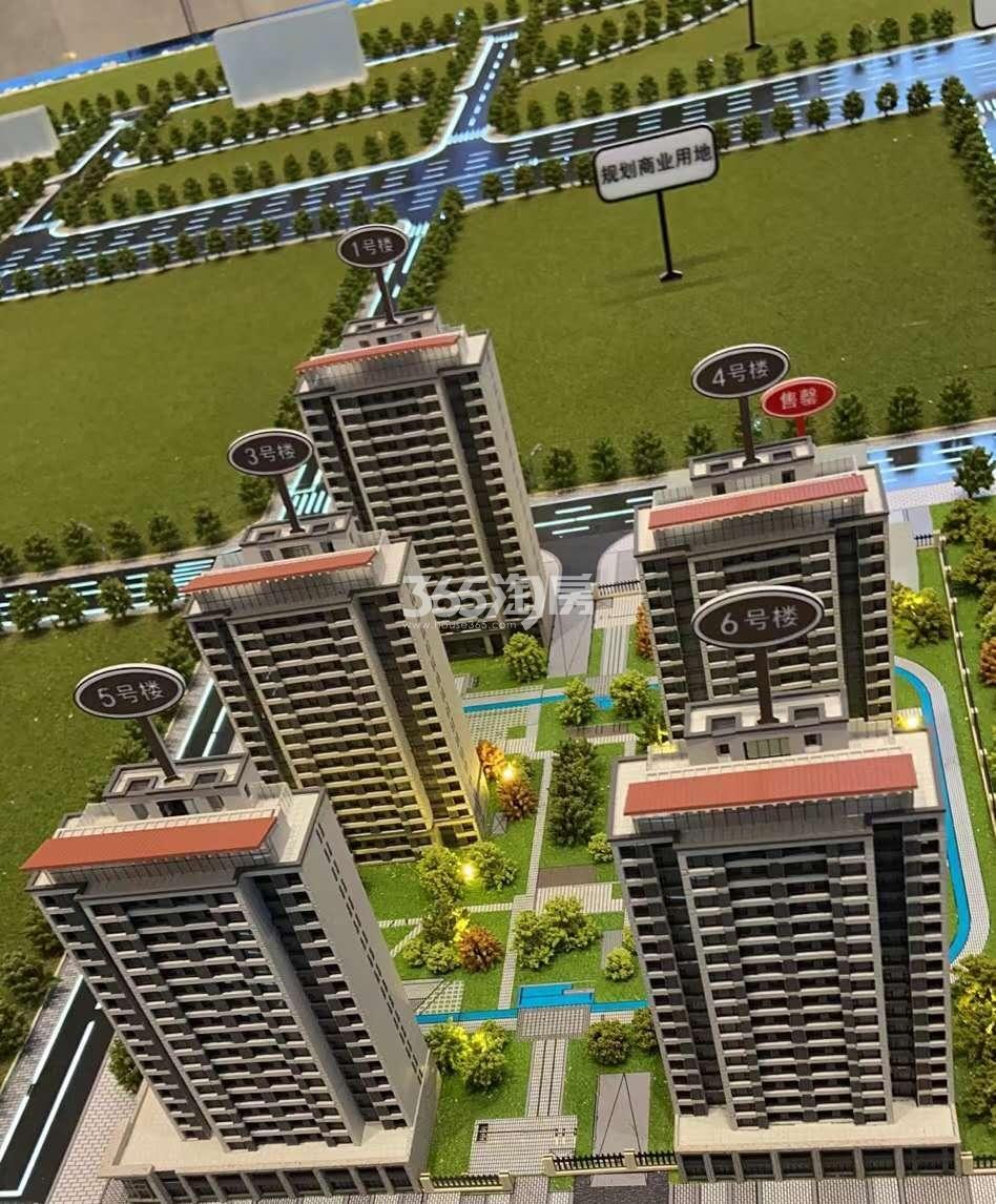 华润置地未来城市实景图