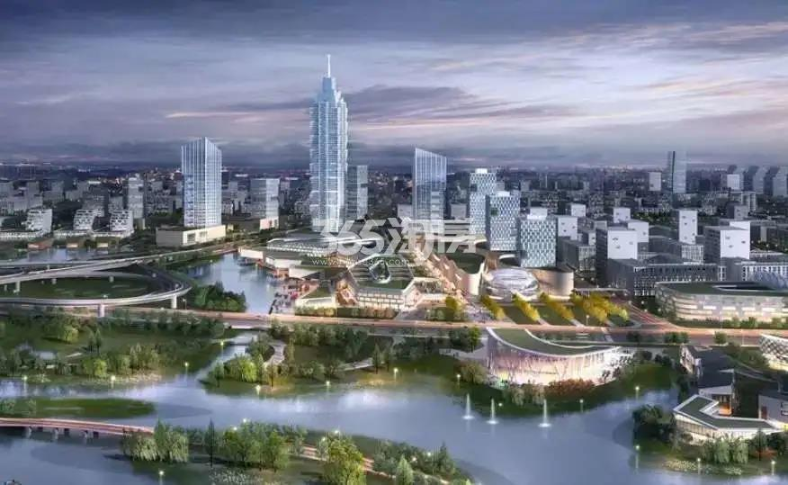 上海大华潮悦前城效果图