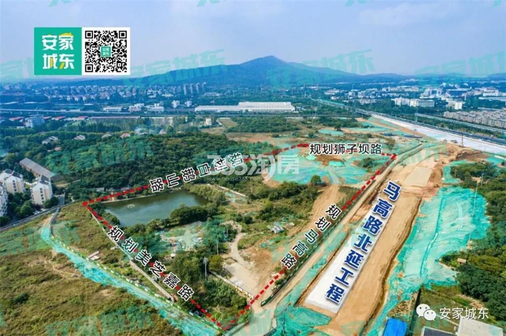 中海钟山印实景图