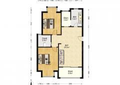 金马郦城西区低总价 南北通透两室 双致远 碧瑶花园旁