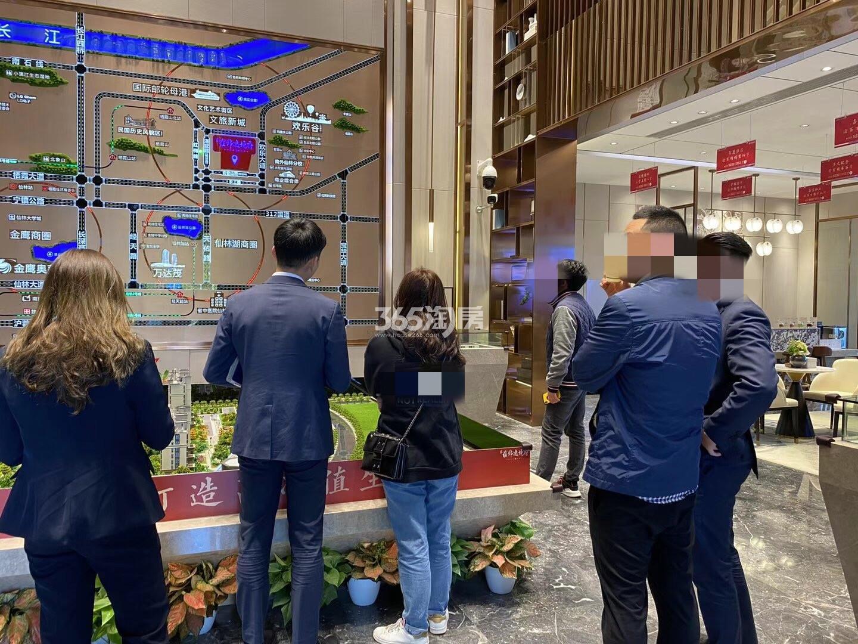 蓝光雍锦逸境府售楼处实景图(11.8)