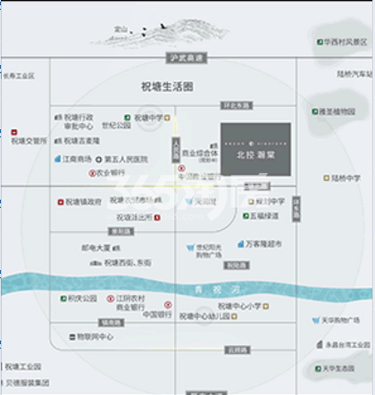 北控瀚棠交通图