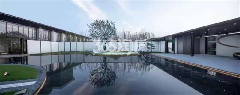 梧桐公馆景观实景图