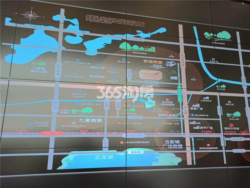 德信未来之翼交通图