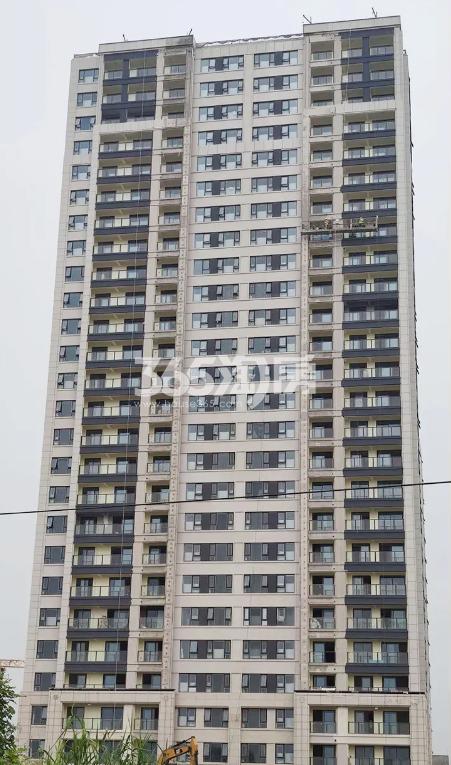 扬子江金茂悦C5地块1#施工进展(9.25)