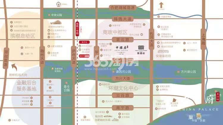 葛洲坝中国府交通图